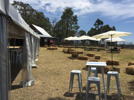 Structured Outdoor Event Package