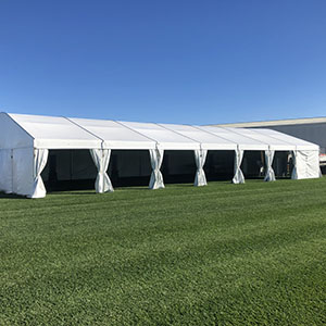 10m x 21m Structured Marquee