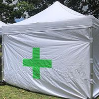 3m x 3m First Aid Instant Shelter