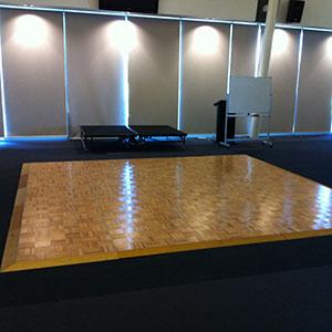 Parquetry Dance Floor