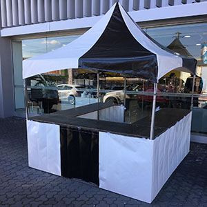 Black & White Fete Stall