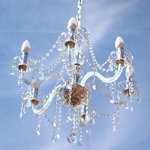 6-Arm LED Chandelier