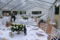Pop Up Marquee Wedding Package