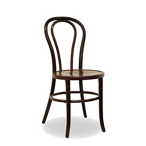 For a touch of elegance, Sydneywide Hire Group's Dark Brown Bentwood Chairs are the ideal solution for weddings, formal dinners and a host of other arrangements