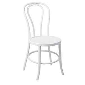 For a touch of elegance, Sydneywide Hire Group's White Bentwood Chairs are the ideal solution for weddings, formal dinners and a host of other arrangements