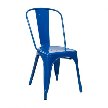 For a modern, in-trend look, Sydneywide Hire Group's Dark Blue Tolix Chair is the ideal solution for Events, Exhibitions and a host of other engagements