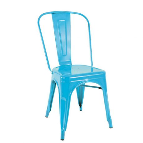 For a modern, in-trend look, Sydneywide Hire Group's Light Blue Tolix Chair is the ideal solution for Events, Exhibitions and a host of other engagements