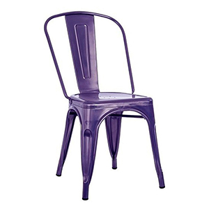 For a modern, in-trend look, Sydneywide Hire Group's Purple Tolix Chair is the ideal solution for Events, Exhibitions and a host of other engagements