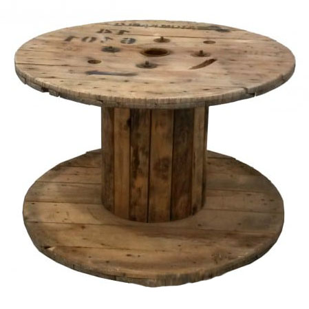 For a rustic vibe, it's hard to go past Sydneywide Hire Group's Cable Reel Table. Great for casual and corporate events
