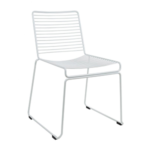 For a modern, in-trend look, Sydneywide Hire Group's White Wire Bend Chair is the ideal solution for Events, Exhibitions and a host of other engagements